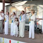 Богу поют не только взрослые, но и дети.