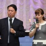 Проповедь гостя из Сингапура старейшины Ви Тионг Хау